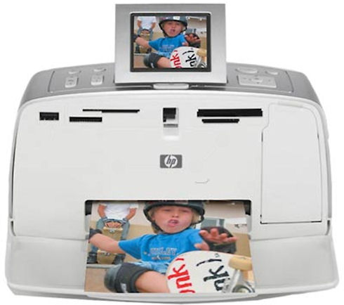 Портативный принтер HP Photosmart 375B