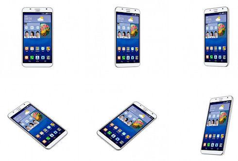 Huawei анонсировала Ascend GX1 - смартфон с огромным экраном