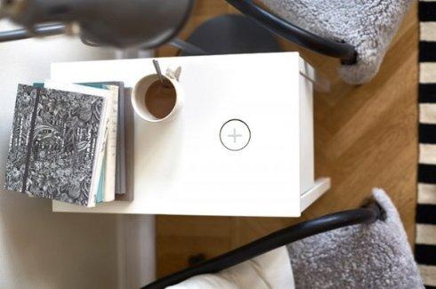 IKEA снабдит лампы и столики беспроводной зарядкой