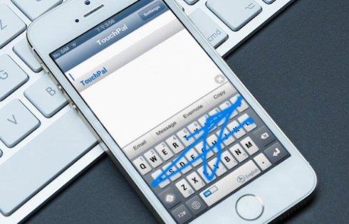 В iOS 8 теперь можно использовать стороннюю клавиатуру