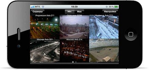 IP видеонаблюдение вместе с системой