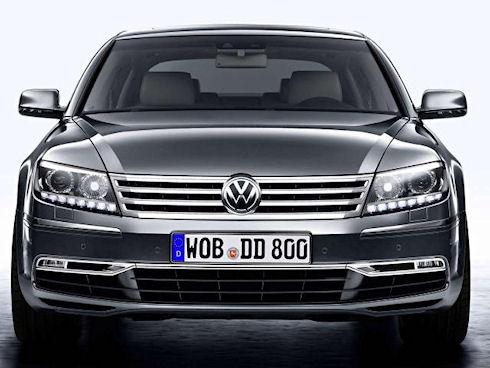 История Volkswagen Phaeton