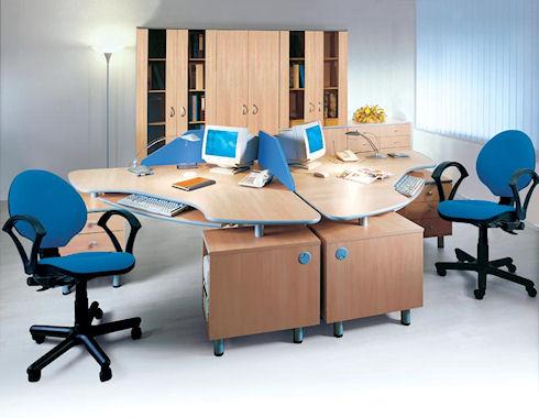 Из чего производится офисная мебель
