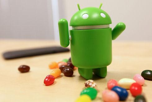 Jelly Bean – новая версия Android