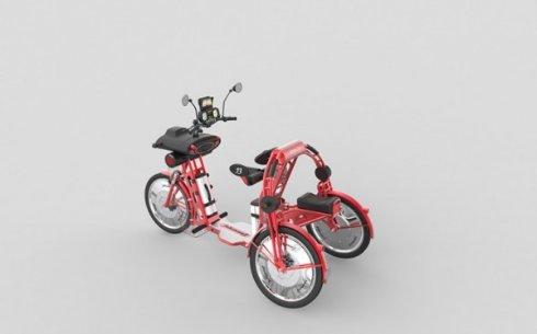 Презентация электрического трицикла johanson3