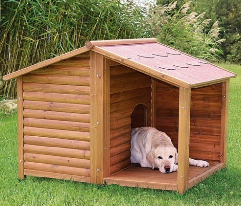 Как построить будку для собаки