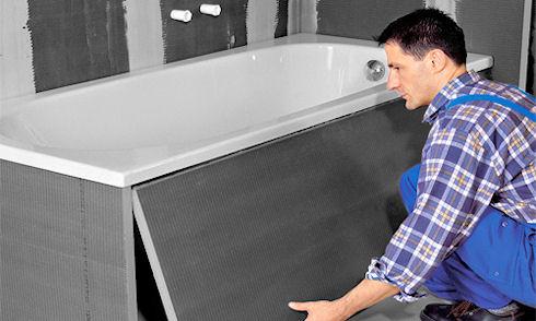Как скрыть трубы в ванной