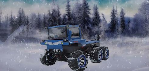 Канадский энтузиаст соорудил игрушечный трактор, который может всё