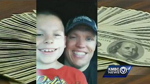 В отеле Канзас-Сити мальчик нашел 10 тыс. долларов