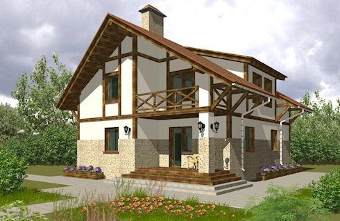 Каркасный дом – просто и выгодно