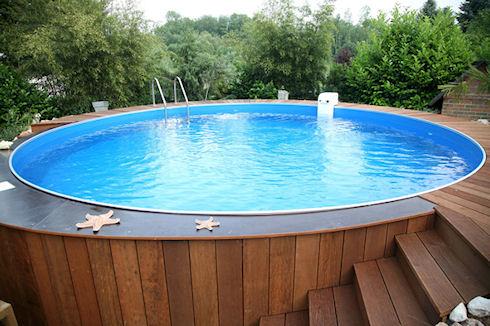 Каркасный бассейн и его установка