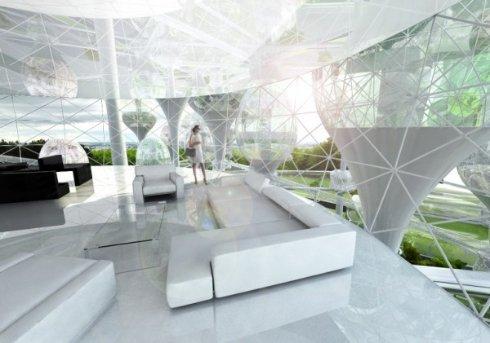 Корейские архитекторы сконструировали воздушный Париж