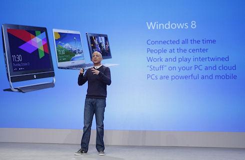 Корпорациям не нравится Windows 8