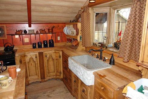 Крестьянский стиль на кухне