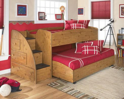 Двухэтажная кровать - мечта любого ребенка