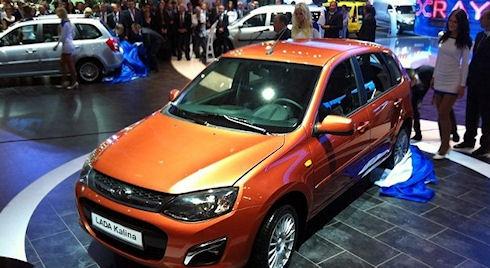Lada Kalina станет «крутой» в 2014 году