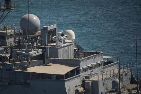 В Персидском заливе тестируют американский корабль с лазерной пушкой