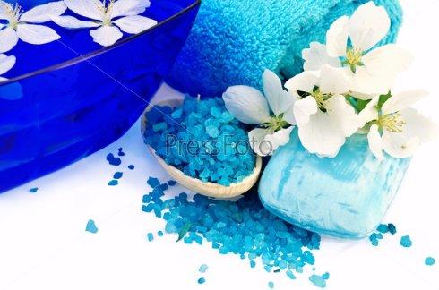 Легенда о синей соли