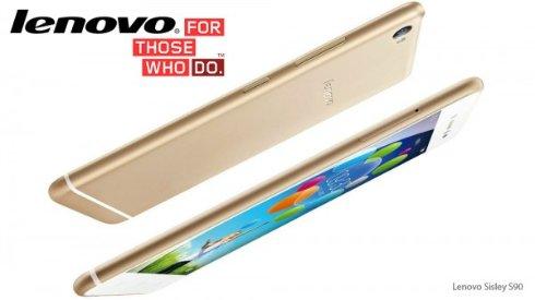 Lenovo анонсировала S90 Sisley, являющийся аналогом iPhone 6