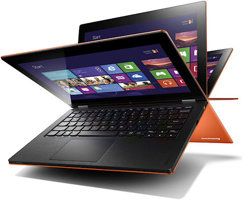 Lenovo Yoga Tablet - самый тонкий планшет с Windows 8 и аккумулятором большой емкости
