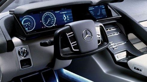 LG подключится к созданию беспилотных автомобилей Mercedes-Benz