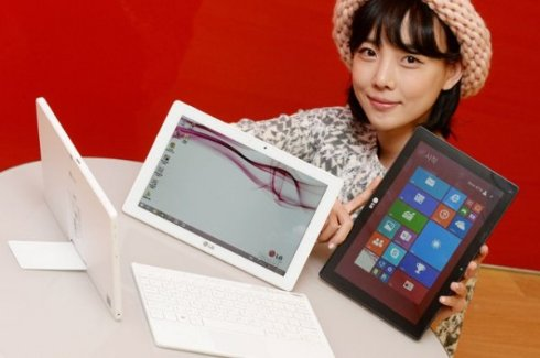 LG презентовала планшет на базе Windows 8.1