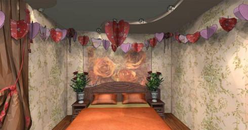 Идеальные цвета для спальни влюбленных