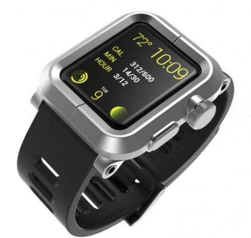 LunaTik Epi — чехол, который сделает Apple Watch  водонепроницаемыми