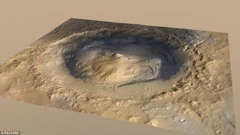 Найдены доказательства существования марсианских озёр