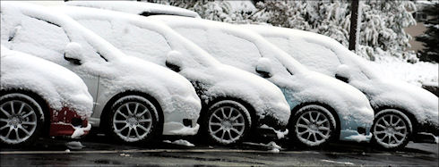 Меры защиты автомобиля зимой
