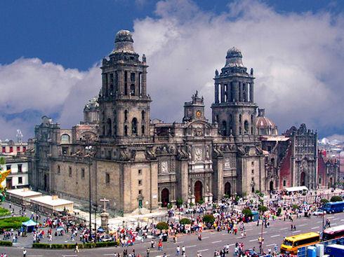 Мехико в январе - волшебная экзотика