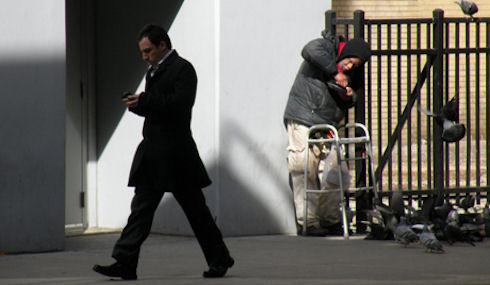Между богатыми и бедными в США непреодолимая дистанция