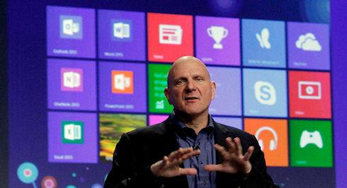 Microsoft продала 100 миллионов копий Windows 8