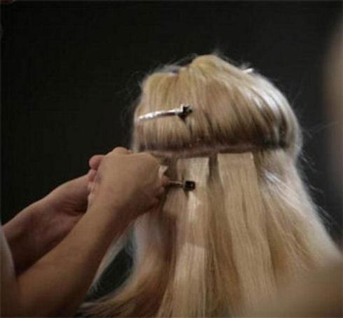 Микронаращивание волос – модная процедура