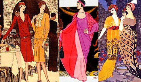 Мода в России в революционный период