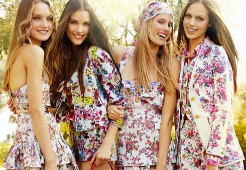 Модный тренд: цветочный принт