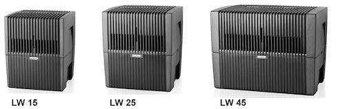 Мойки воздуха VENTA. Новая линейка моделей LW15, LW25, LW45