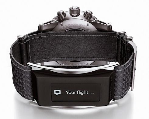 Montblanc превратит механические часы в «умные»