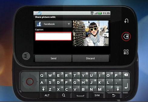 Мобильники Motorola сдают информацию своих хозяев