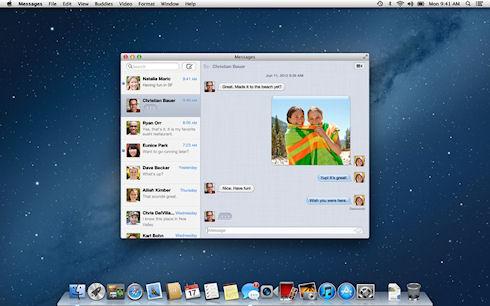Некоторые изменения в Mac OS X Mountain Lion