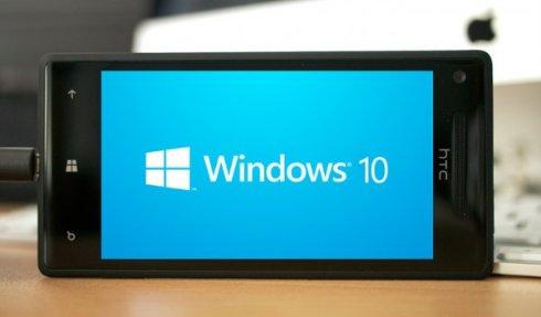 Смартфоны Microsoft «познакомятся» с Windows Phone 10