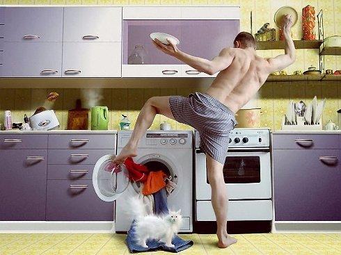 Мужчина на кухне: когда, как и почему?