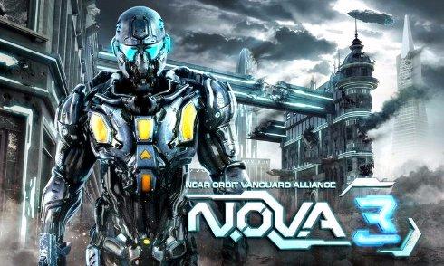 N.O.V.A. 3 — аналог Crуsis для Андроид