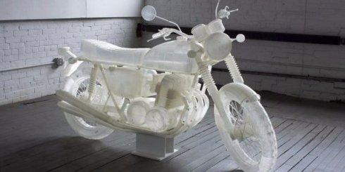 На 3D-принтере напечатали мотоцикл