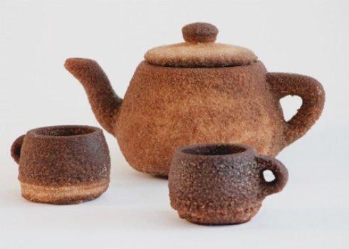 На 3D-принтере распечатали чайный сервиз