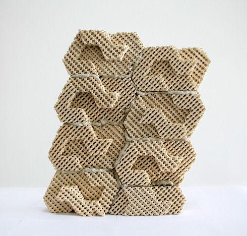 На 3D-принтере напечатали уникальный кирпич