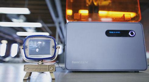 На 3D-принтере напечатали телевизор