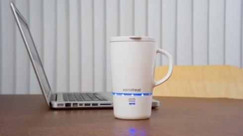 На Kikstarter собирают средства на кружку с беспроводным подогревом