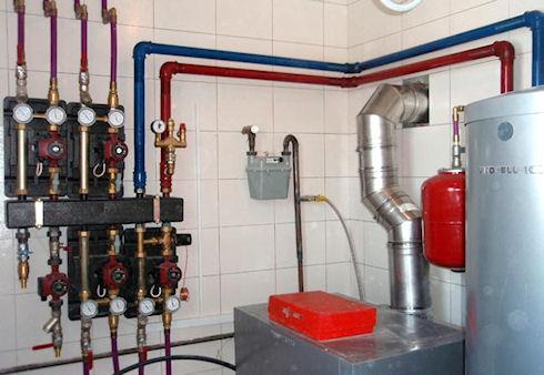 Насосная система отопления