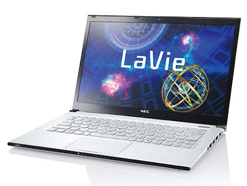 NEC LaVie Z — самый тонкий и легкий ультрабук